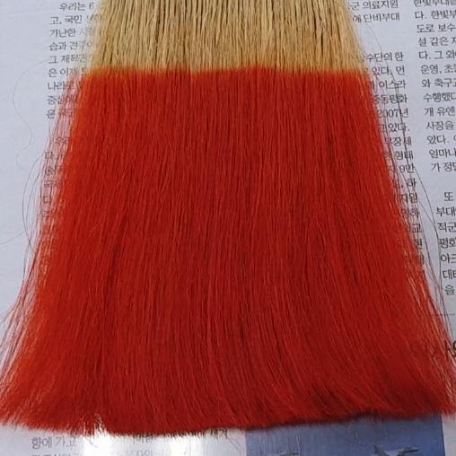염색<br/>주황색